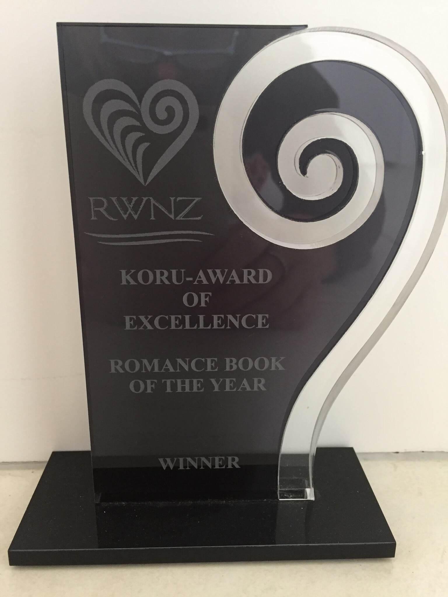 Koru Award trophy